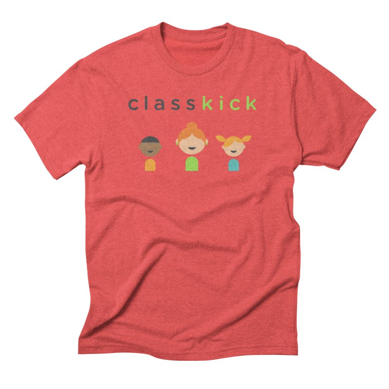 Classkick Classroom Men's Triblend T-shirt by Classkick's Artist Shop