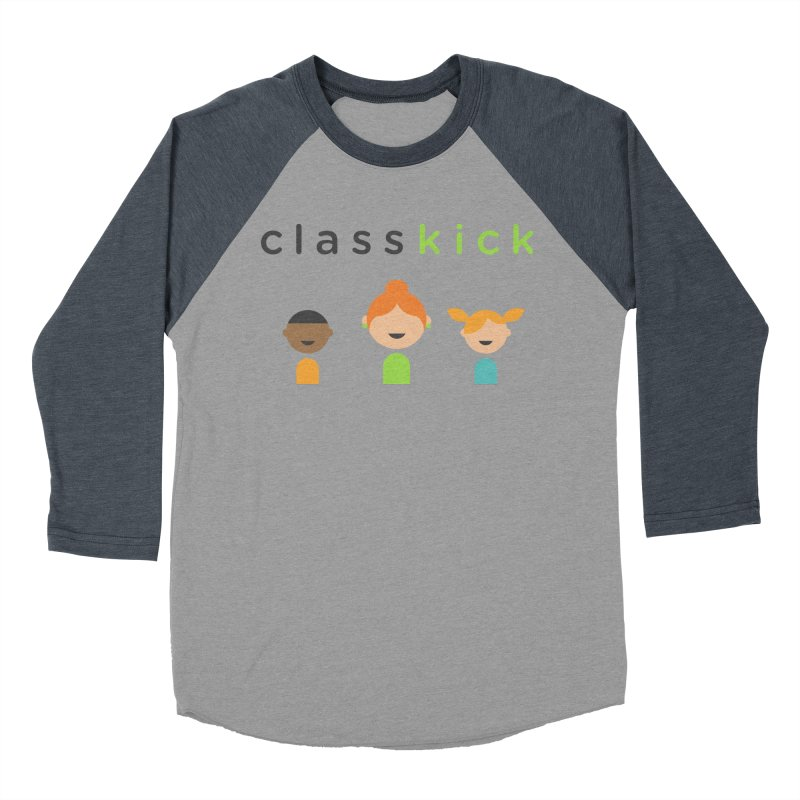 Classkick Classroom Men's Baseball Triblend T-Shirt by Classkick's Artist Shop