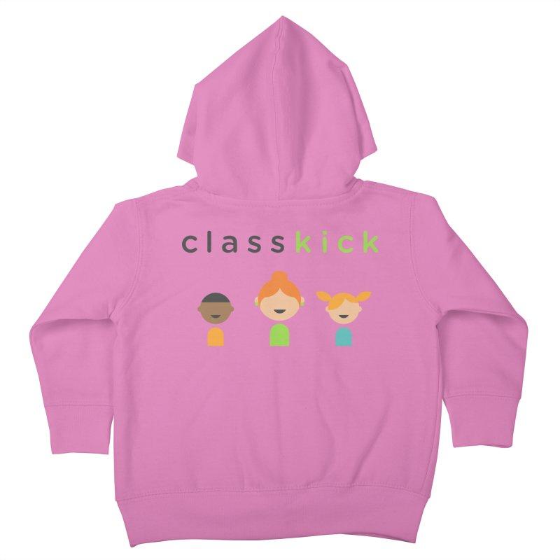 Classkick Classroom Kids Toddler Zip-Up Hoody by Classkick's Artist Shop