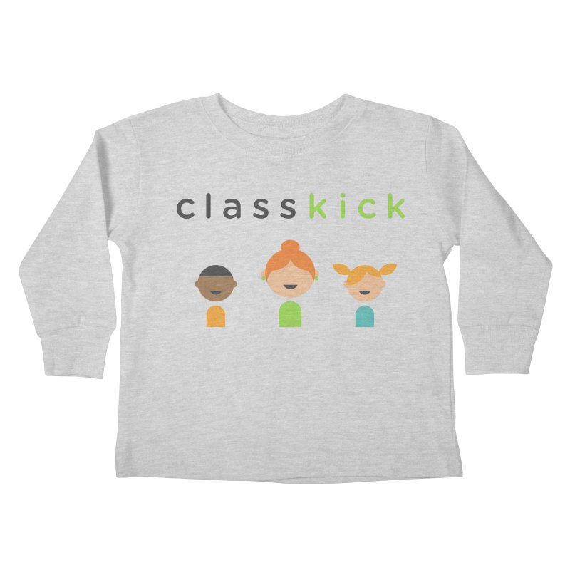 Classkick Classroom Kids Toddler Longsleeve T-Shirt by Classkick's Artist Shop