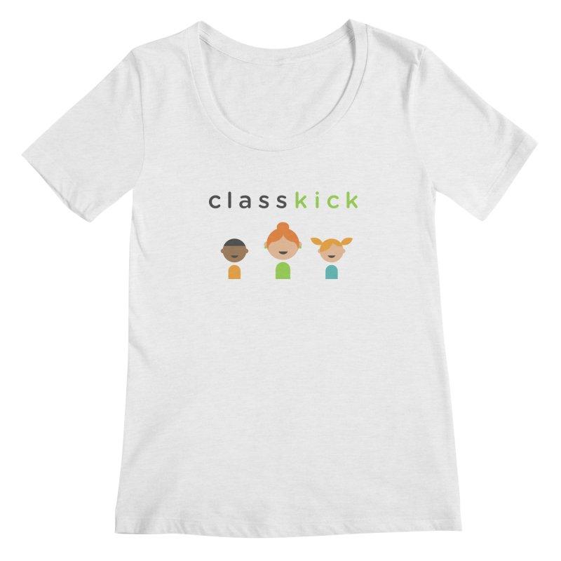Classkick Classroom Women's Scoop Neck by Classkick's Artist Shop