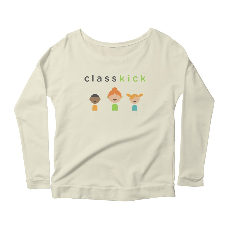 Classkick Classroom Women's Scoop Neck Longsleeve T-Shirt by Classkick's Artist Shop