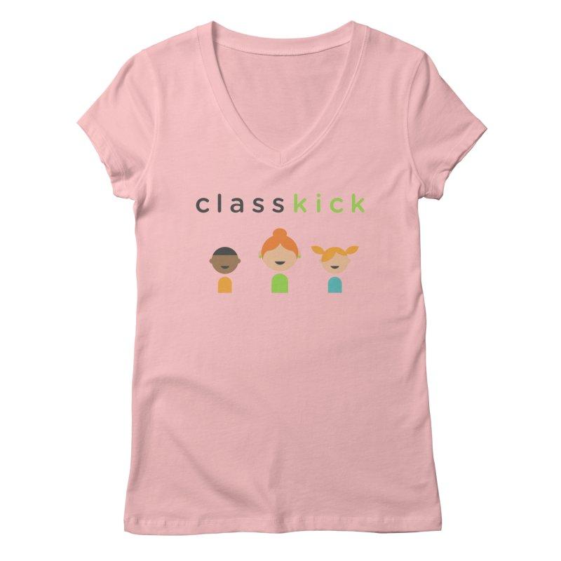 Classkick Classroom Women's Regular V-Neck by Classkick's Artist Shop