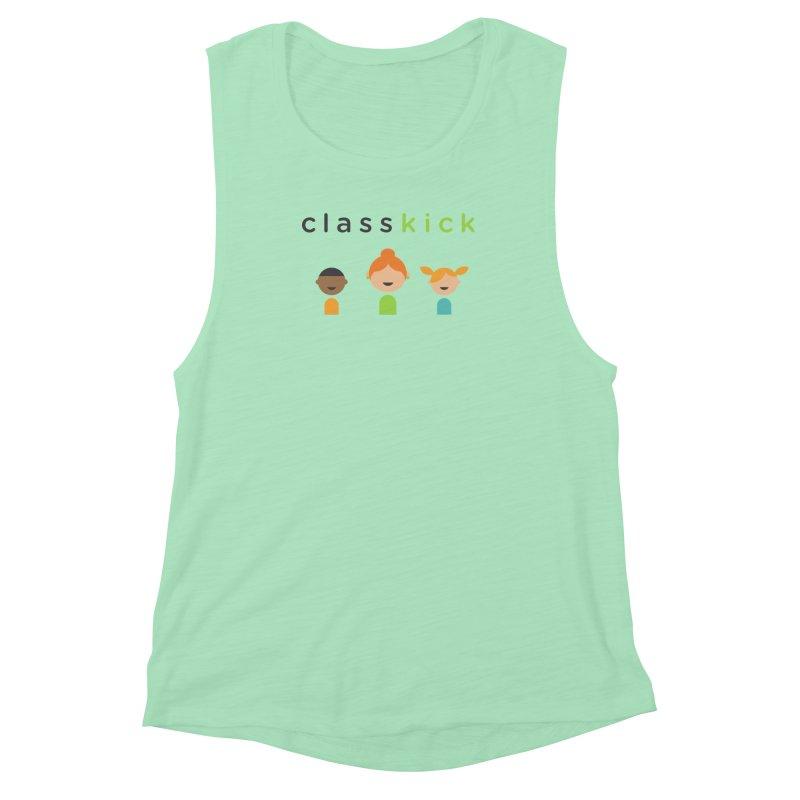 Classkick Classroom Women's Muscle Tank by Classkick's Artist Shop