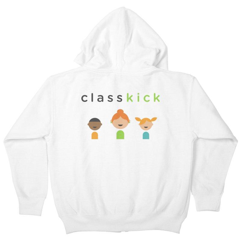 Classkick Classroom Kids Zip-Up Hoody by Classkick's Artist Shop