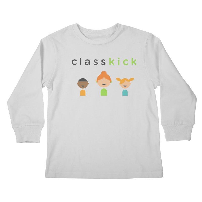 Classkick Classroom Kids Longsleeve T-Shirt by Classkick's Artist Shop