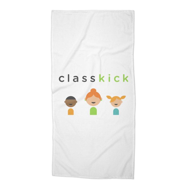 Classkick Classroom Accessories Beach Towel by Classkick's Artist Shop
