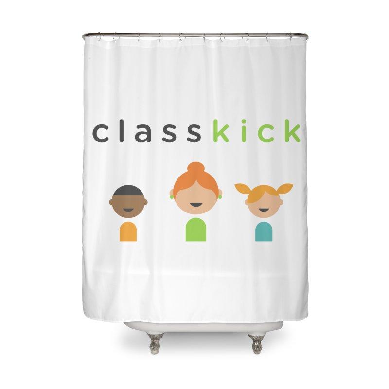 Classkick Classroom Home Shower Curtain by Classkick's Artist Shop