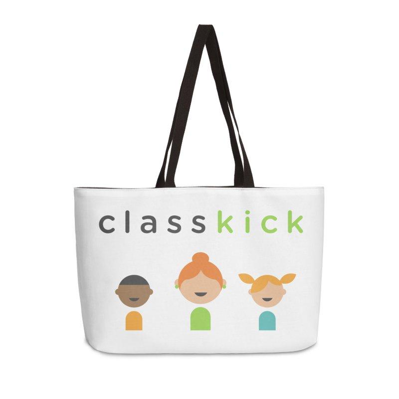 Classkick Classroom Accessories Weekender Bag Bag by Classkick's Artist Shop