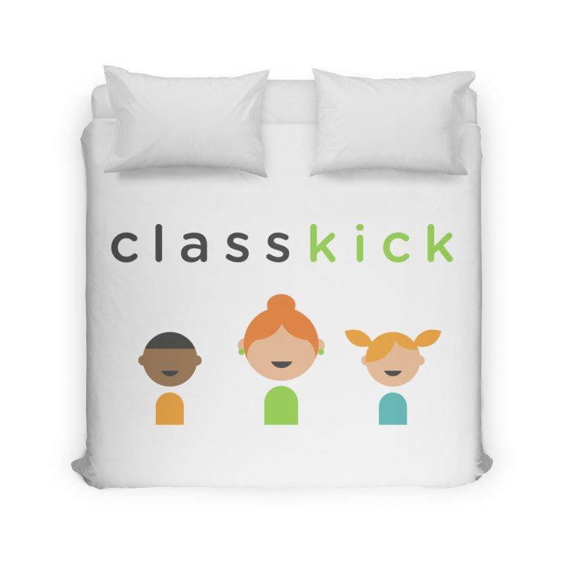 Classkick Classroom Home Duvet by Classkick's Artist Shop