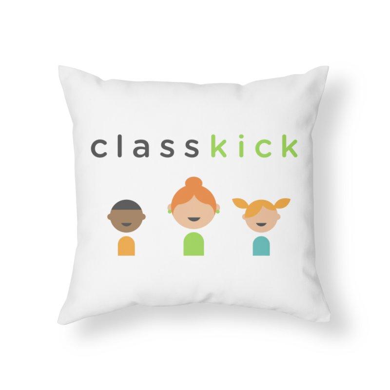 Classkick Classroom Home Throw Pillow by Classkick's Artist Shop