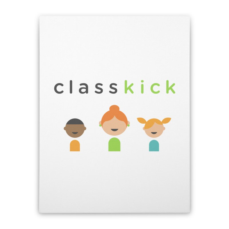 Classkick Classroom Home Stretched Canvas by Classkick's Artist Shop