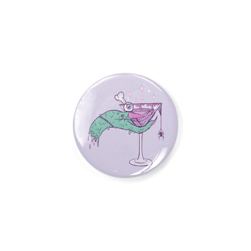 Monster Martini Accessories Button by classycreeps's Artist Shop
