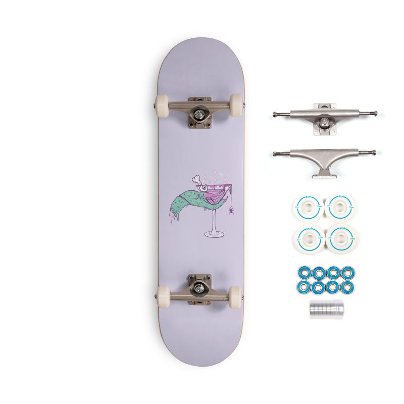 Monster Martini Accessories Skateboard by classycreeps's Artist Shop