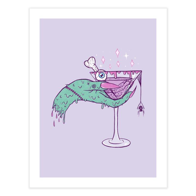 Monster Martini Home Fine Art Print by classycreeps's Artist Shop