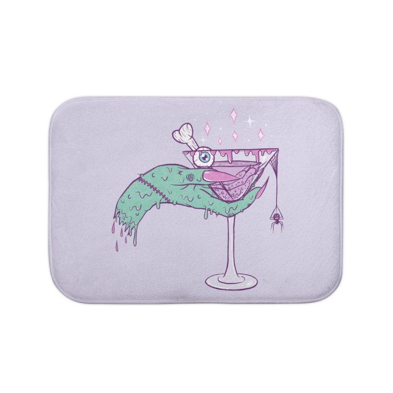 Monster Martini Home Bath Mat by classycreeps's Artist Shop