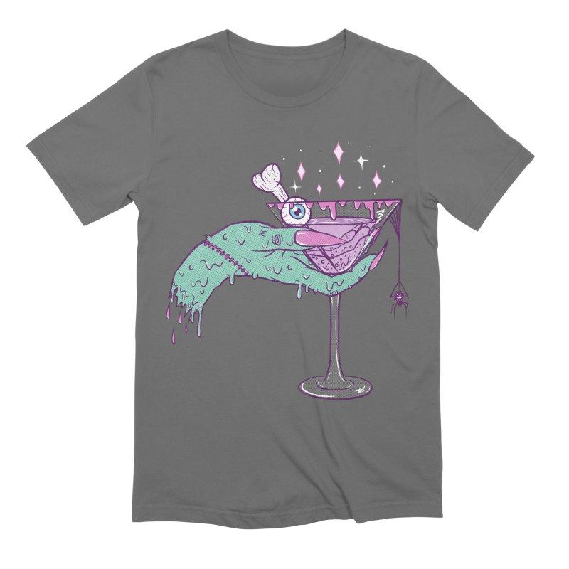 Monster Martini Men's T-Shirt by classycreeps's Artist Shop