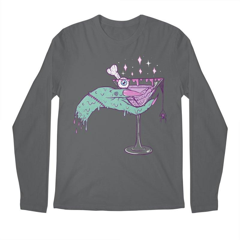 Monster Martini Men's Longsleeve T-Shirt by classycreeps's Artist Shop