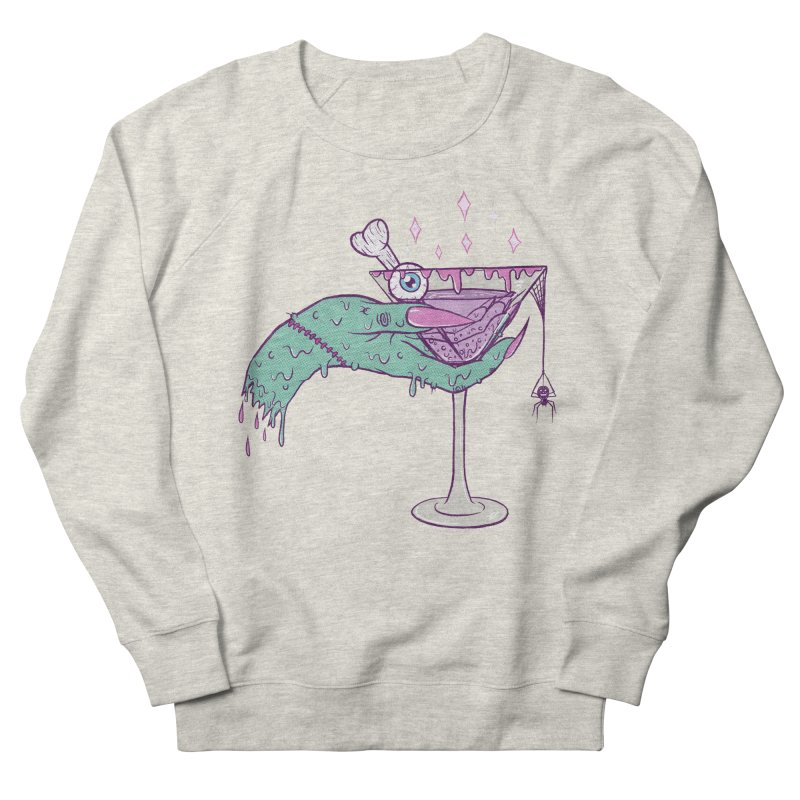 Monster Martini Men's Sweatshirt by classycreeps's Artist Shop