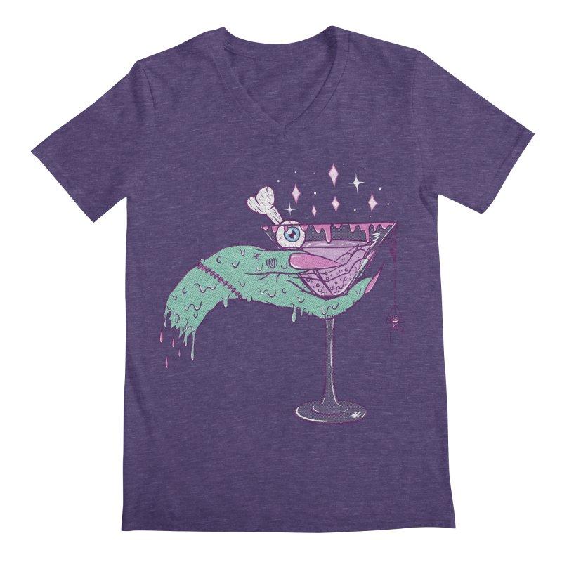 Monster Martini Men's V-Neck by classycreeps's Artist Shop