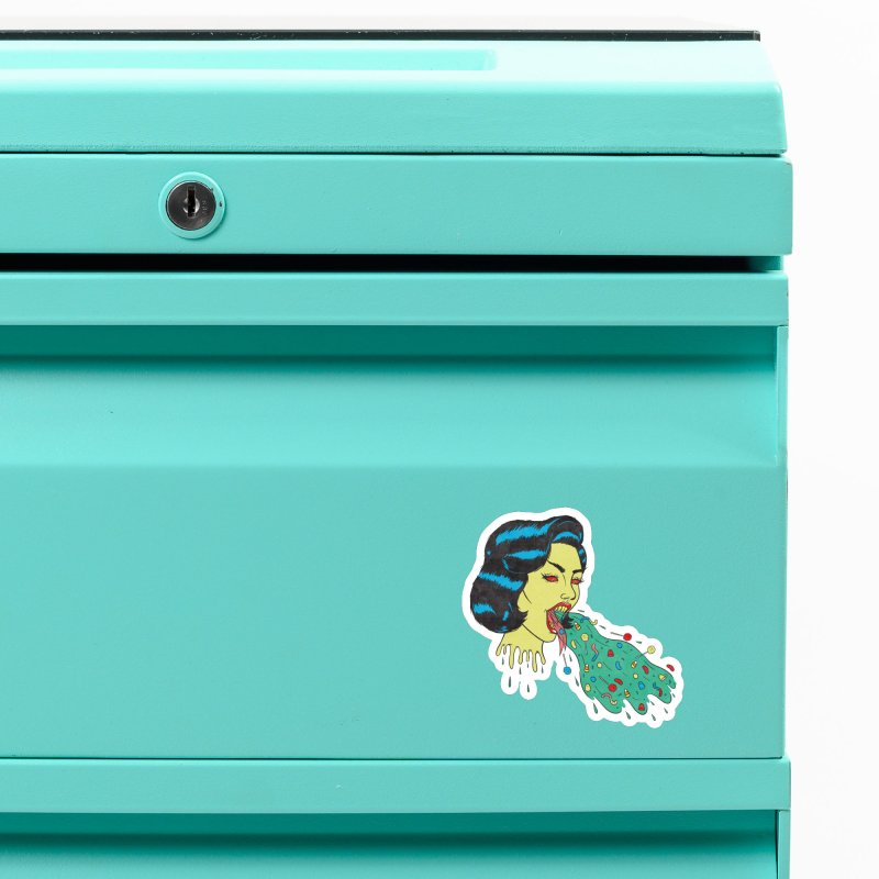 Candy Vomit Accessories Magnet by classycreeps's Artist Shop