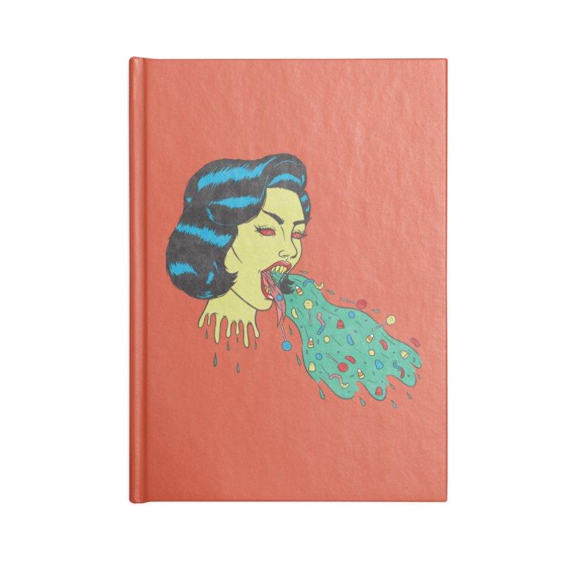 Candy Vomit Accessories Notebook by classycreeps's Artist Shop