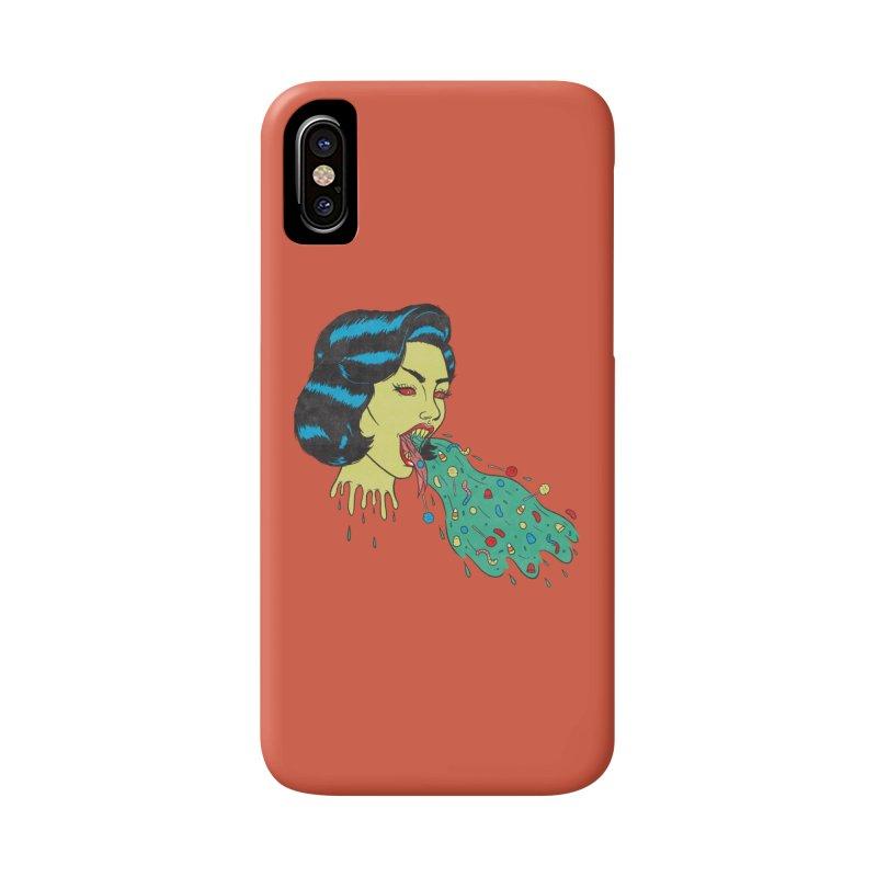 Candy Vomit Accessories Phone Case by classycreeps's Artist Shop