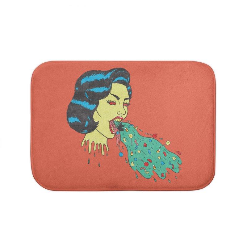 Candy Vomit Home Bath Mat by classycreeps's Artist Shop