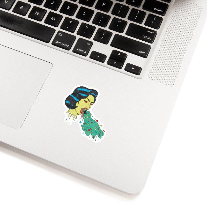 Candy Vomit Accessories Sticker by classycreeps's Artist Shop