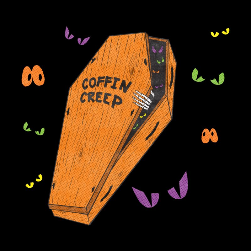 Coffin Creep Accessories Skateboard by classycreeps's Artist Shop