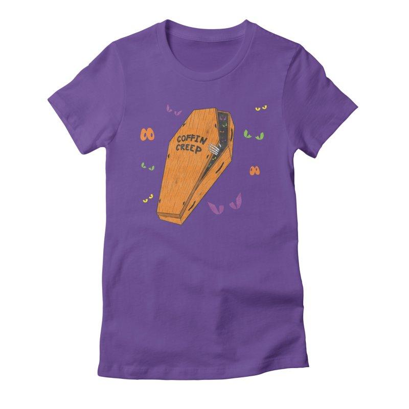 Coffin Creep Women's T-Shirt by classycreeps's Artist Shop