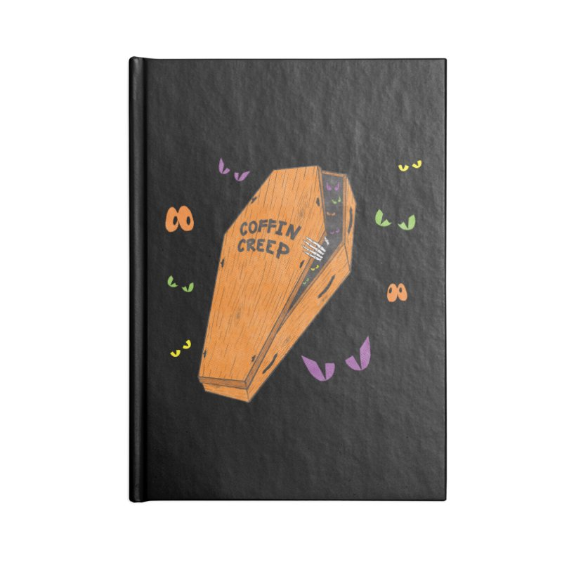 Coffin Creep Accessories Notebook by classycreeps's Artist Shop