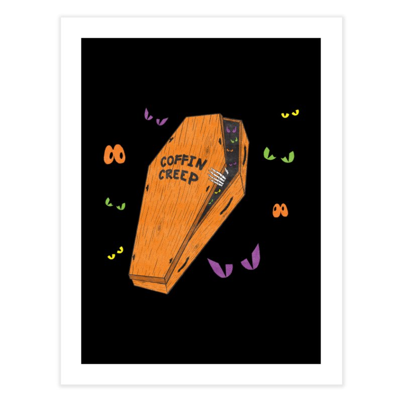 Coffin Creep Home Fine Art Print by classycreeps's Artist Shop