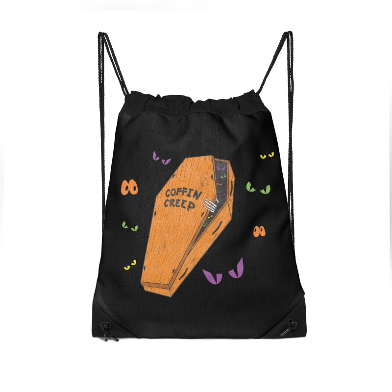 Coffin Creep Accessories Bag by classycreeps's Artist Shop