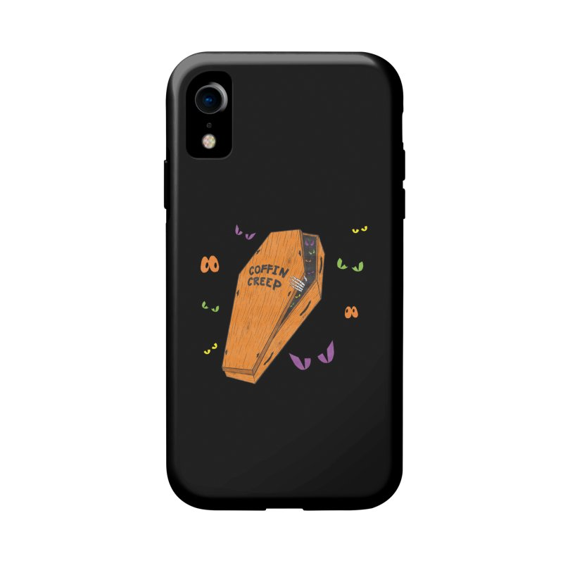 Coffin Creep Accessories Phone Case by classycreeps's Artist Shop