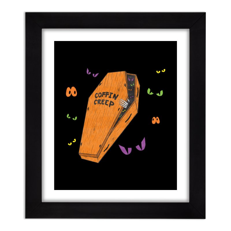 Coffin Creep Home Framed Fine Art Print by classycreeps's Artist Shop