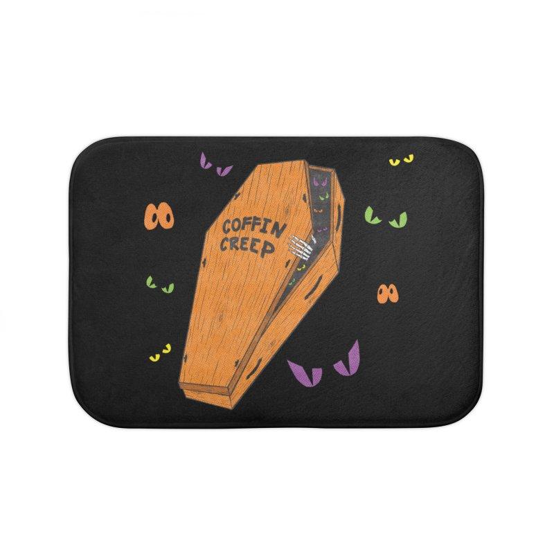 Coffin Creep Home Bath Mat by classycreeps's Artist Shop