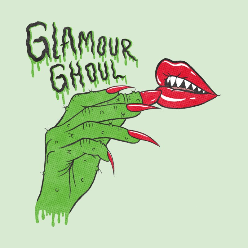 Glamour Ghoul Accessories Zip Pouch by classycreeps's Artist Shop