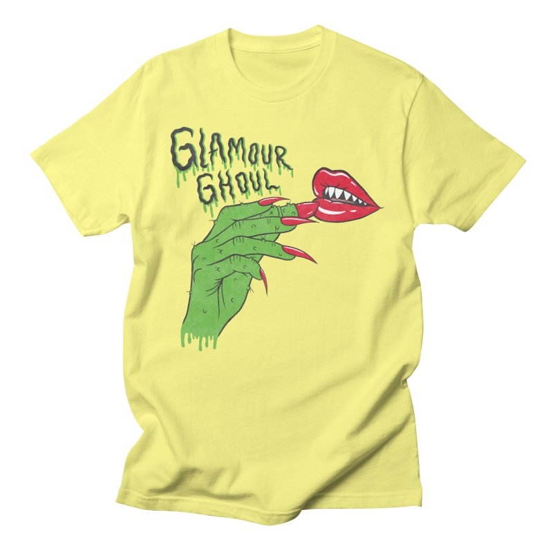 Glamour Ghoul Men's T-Shirt by classycreeps's Artist Shop
