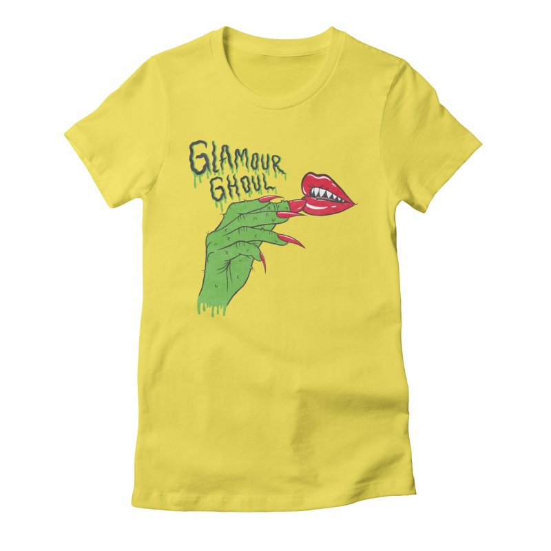Glamour Ghoul Women's T-Shirt by classycreeps's Artist Shop