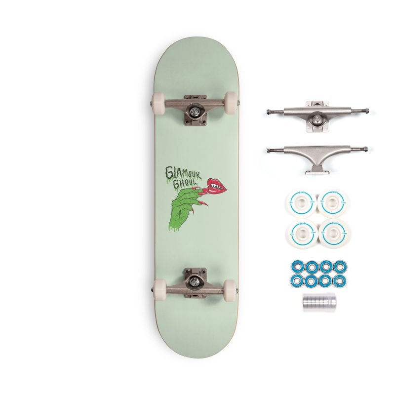 Glamour Ghoul Accessories Skateboard by classycreeps's Artist Shop