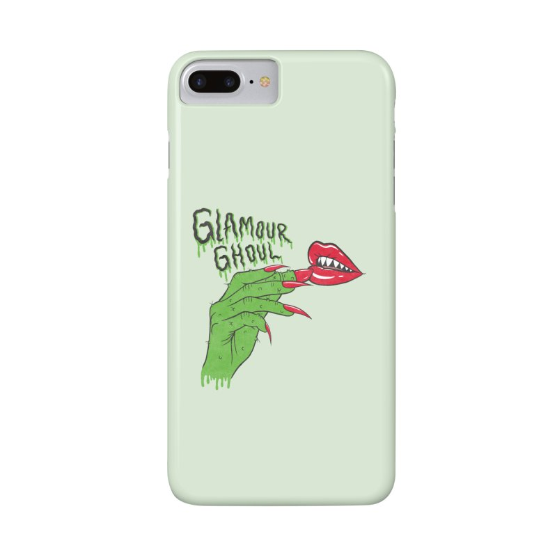 Glamour Ghoul Accessories Phone Case by classycreeps's Artist Shop