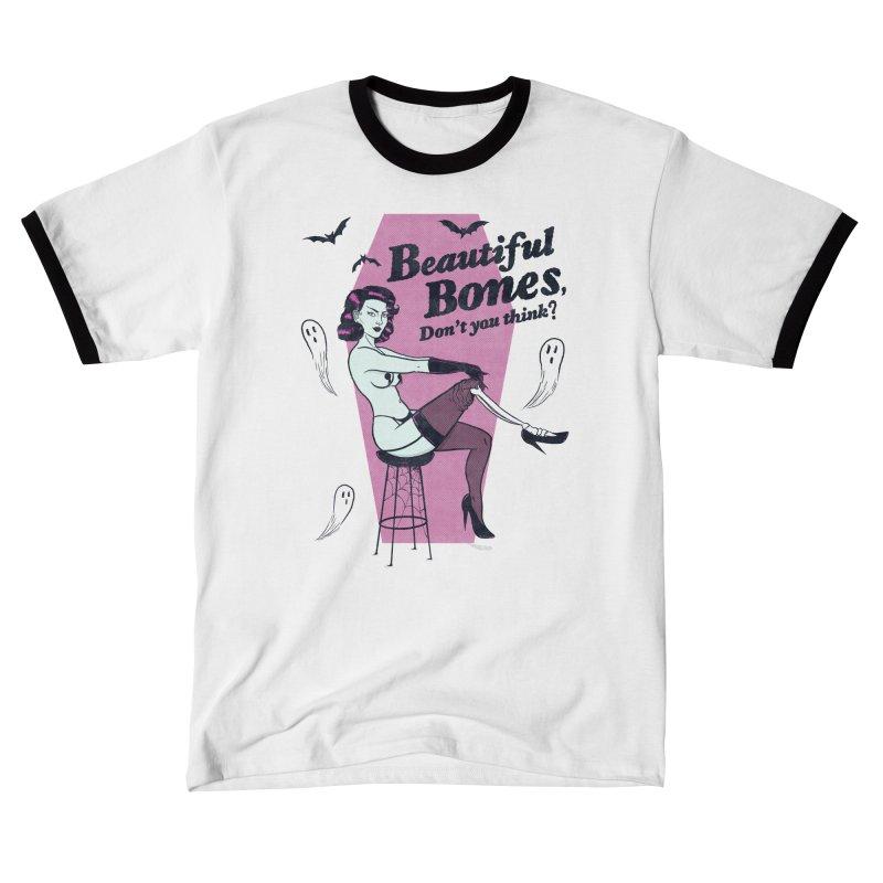 Beautiful Bones Men's T-Shirt by classycreeps's Artist Shop