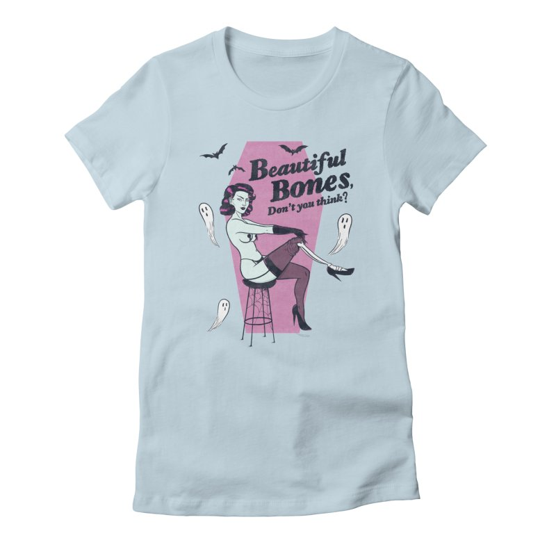Beautiful Bones Women's T-Shirt by classycreeps's Artist Shop