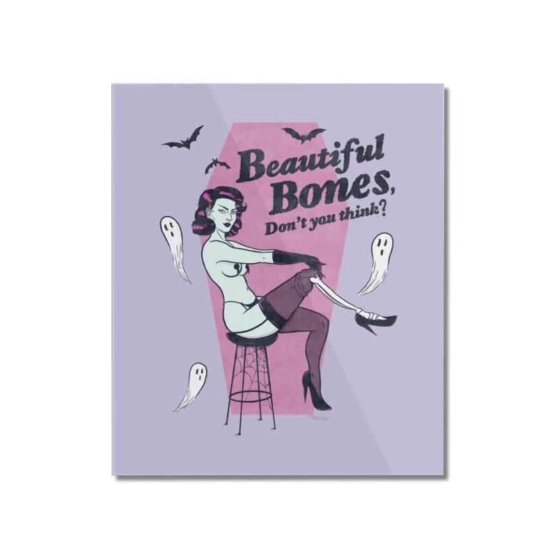 Beautiful Bones Home Mounted Acrylic Print by classycreeps's Artist Shop