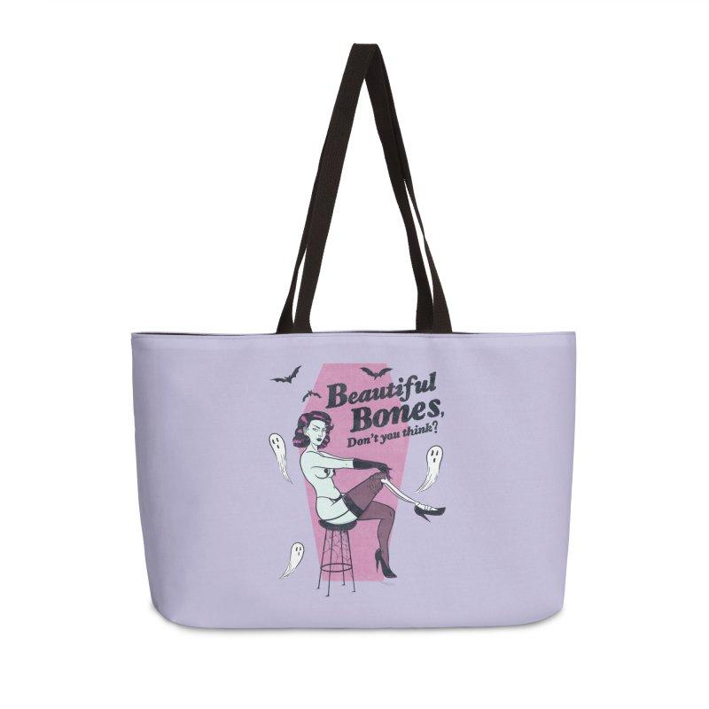 Beautiful Bones Accessories Bag by classycreeps's Artist Shop