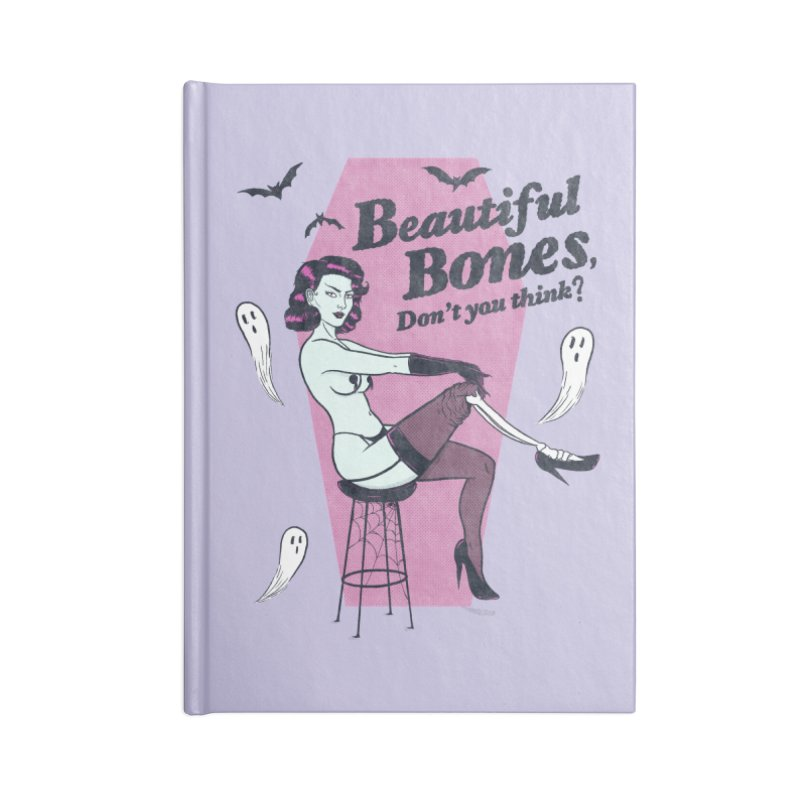 Beautiful Bones Accessories Notebook by classycreeps's Artist Shop