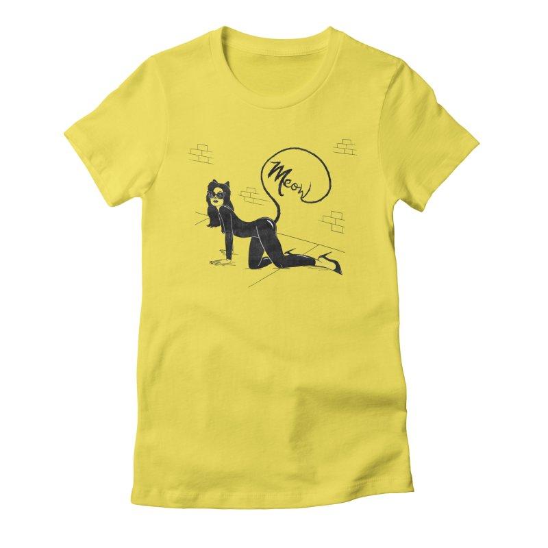 Alley Cat Women's T-Shirt by classycreeps's Artist Shop
