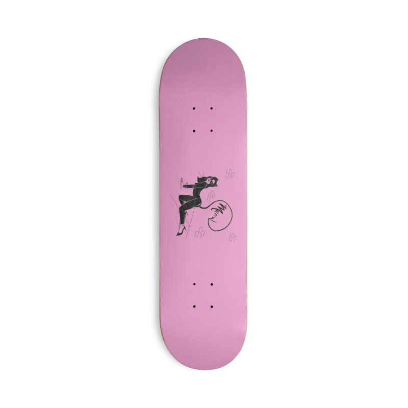 Alley Cat Accessories Skateboard by classycreeps's Artist Shop