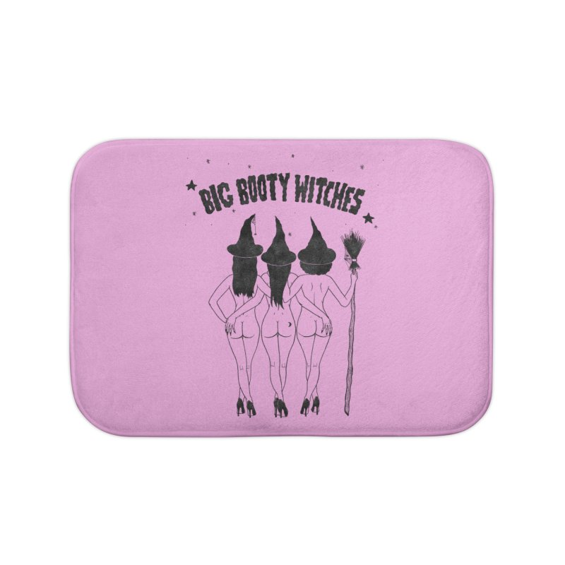 Big Booty Witches Home Bath Mat by classycreeps's Artist Shop